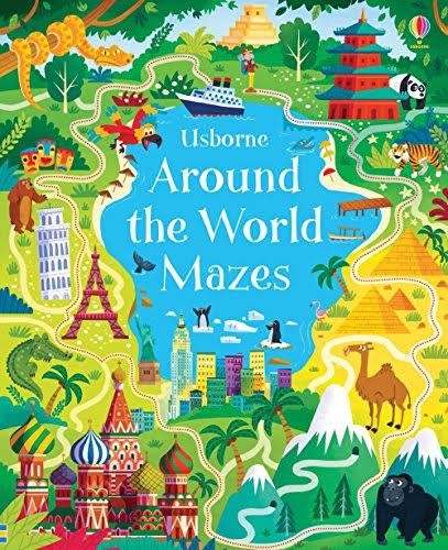 Around the World Mazes [Book]