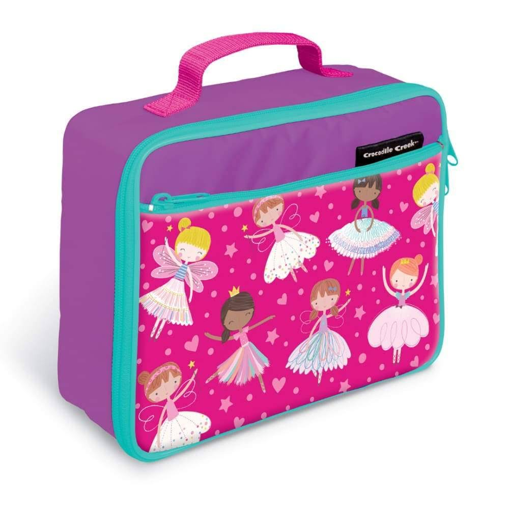 Crocodile Creek Dancers and Dreams Lunch Box - Purple and Pink