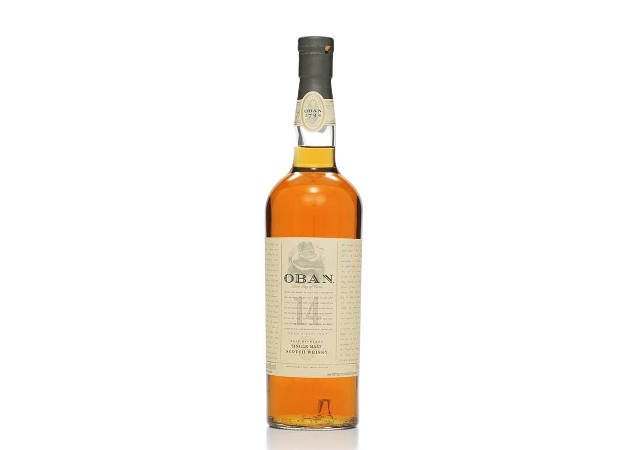 Oban Single Malt Scotch Whisky - 750 ml