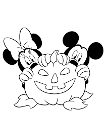 Disney Halloween Coloring Pages by Minnie Mouse Halloween Coloring Pages Disney Halloween Coloring