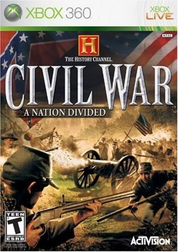 The History Channel Civil War: A Nation Divided - Xbox 360