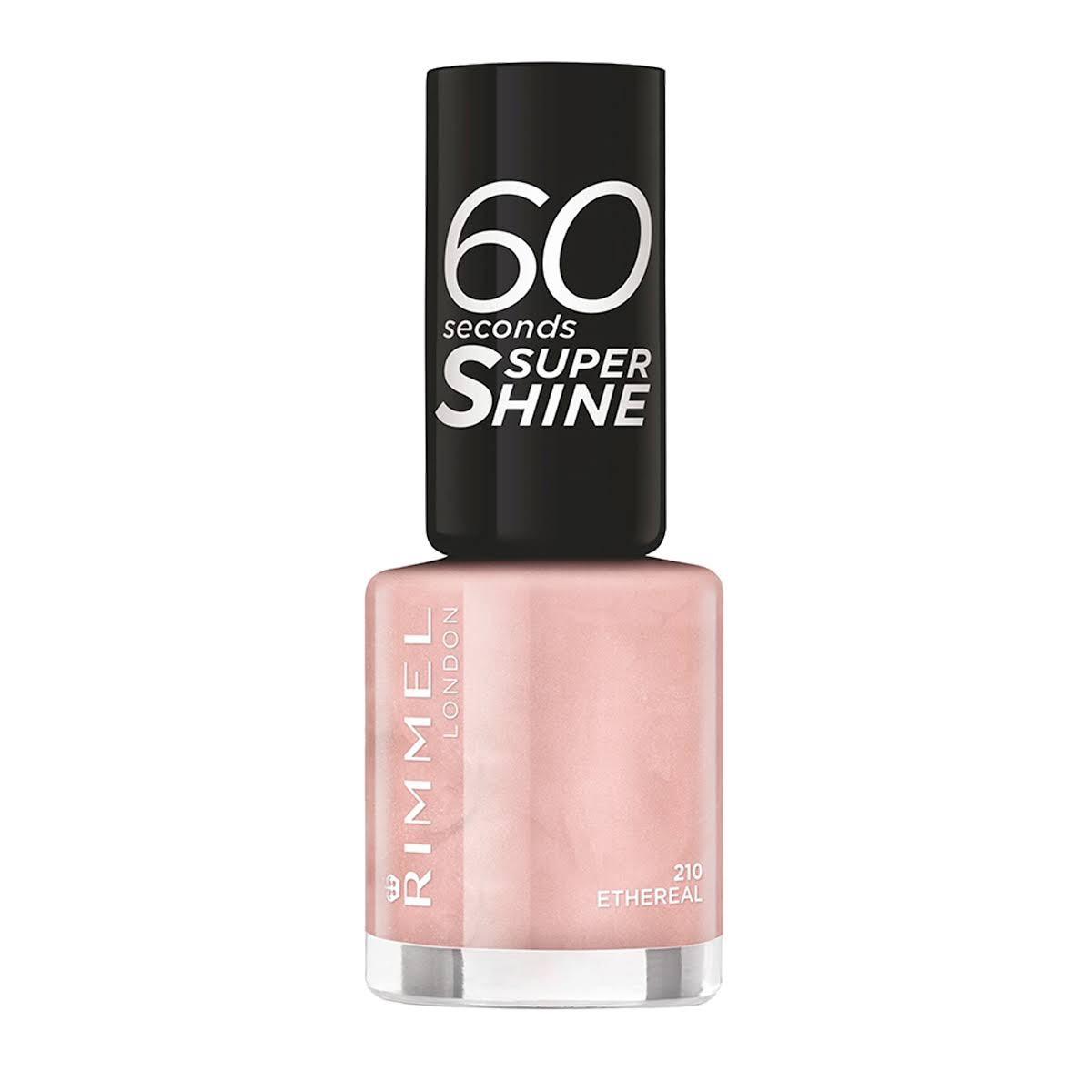 Rimmel 60 Seconds Super Shine Nail Polish - 20 Etheral, 8ml
