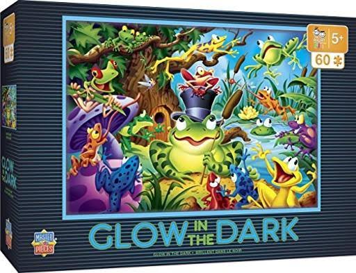 Masterpieces Glow in The Dark Right Fit - Abracadabra 60 Piece Jigsaw Puzzle