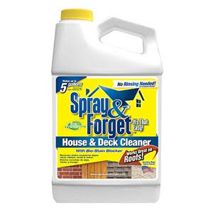 Spray and Forget House and Deck Cleaner Concentrate - 64oz