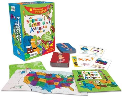 The Scrambled States of America Game