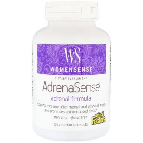Natural Factors WomenSense AdrenaSense Adrenal Supplement - 120 Veggie Caps