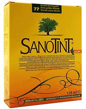Sanotint Light Natural Hair Dye - 77 Dark Golden Blond, 125ml