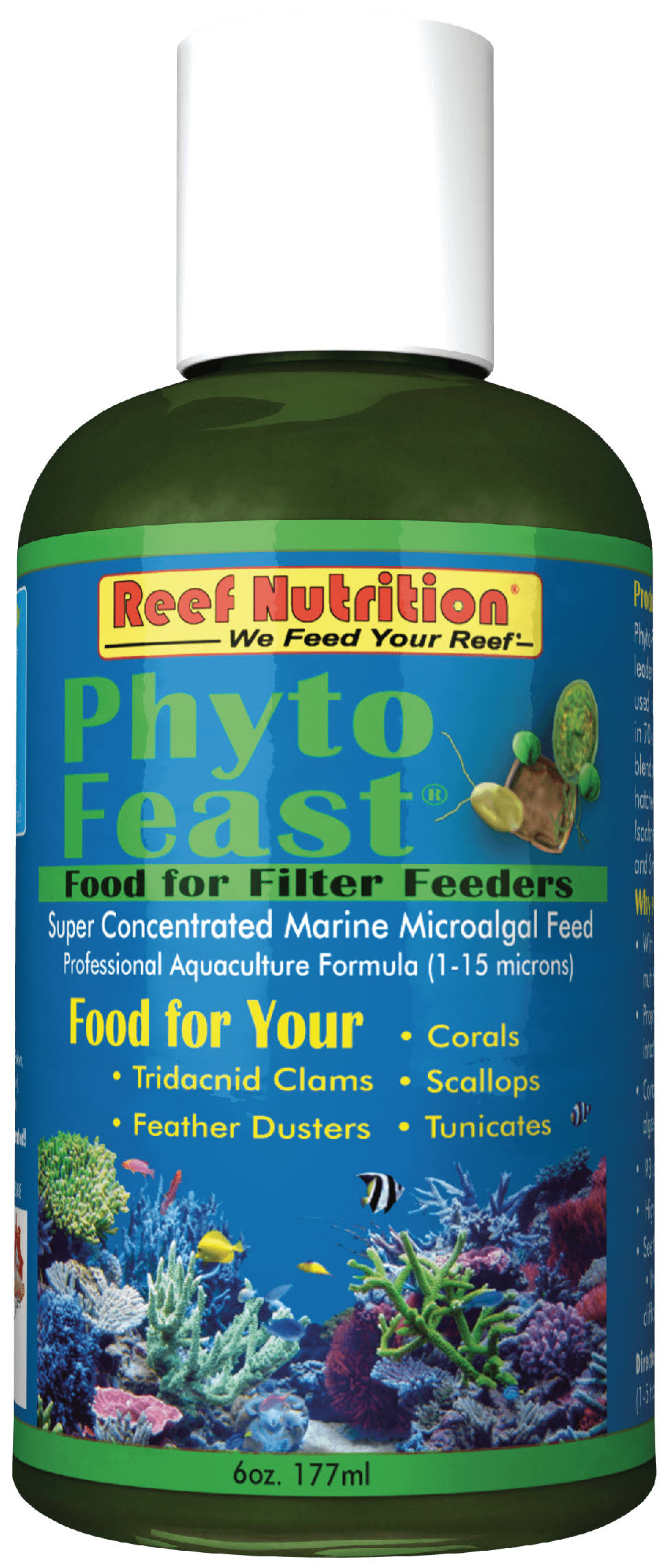 Reef Nutrition Phyto-Feast Food for Filter Feeders - 6oz