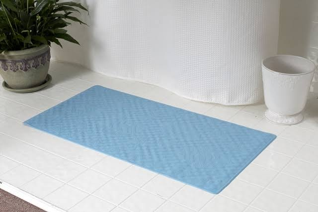 "Carnation Home Fashions Rubber Shower Mat - 16"" x 28"""