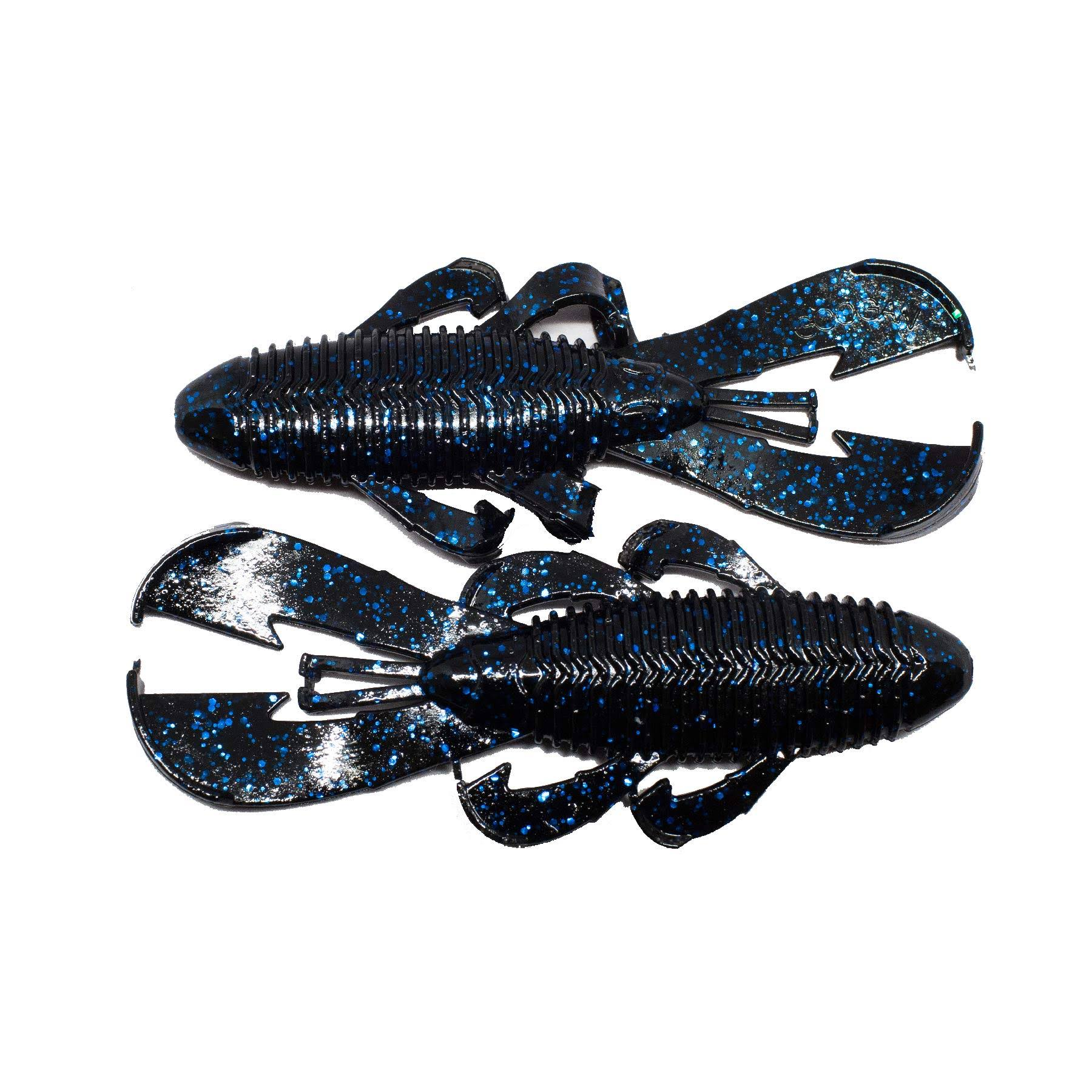 Googan Baits Bandito Bug - Black Blue Flake