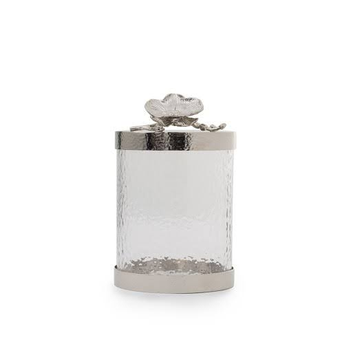 Michael Aram White Orchid Canister Small