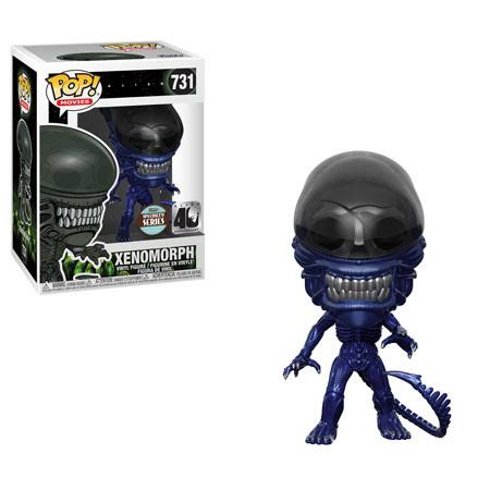 Funko Alien Xenomorph 40th Anniversary Blue Metallic Pop Vinyl Figure