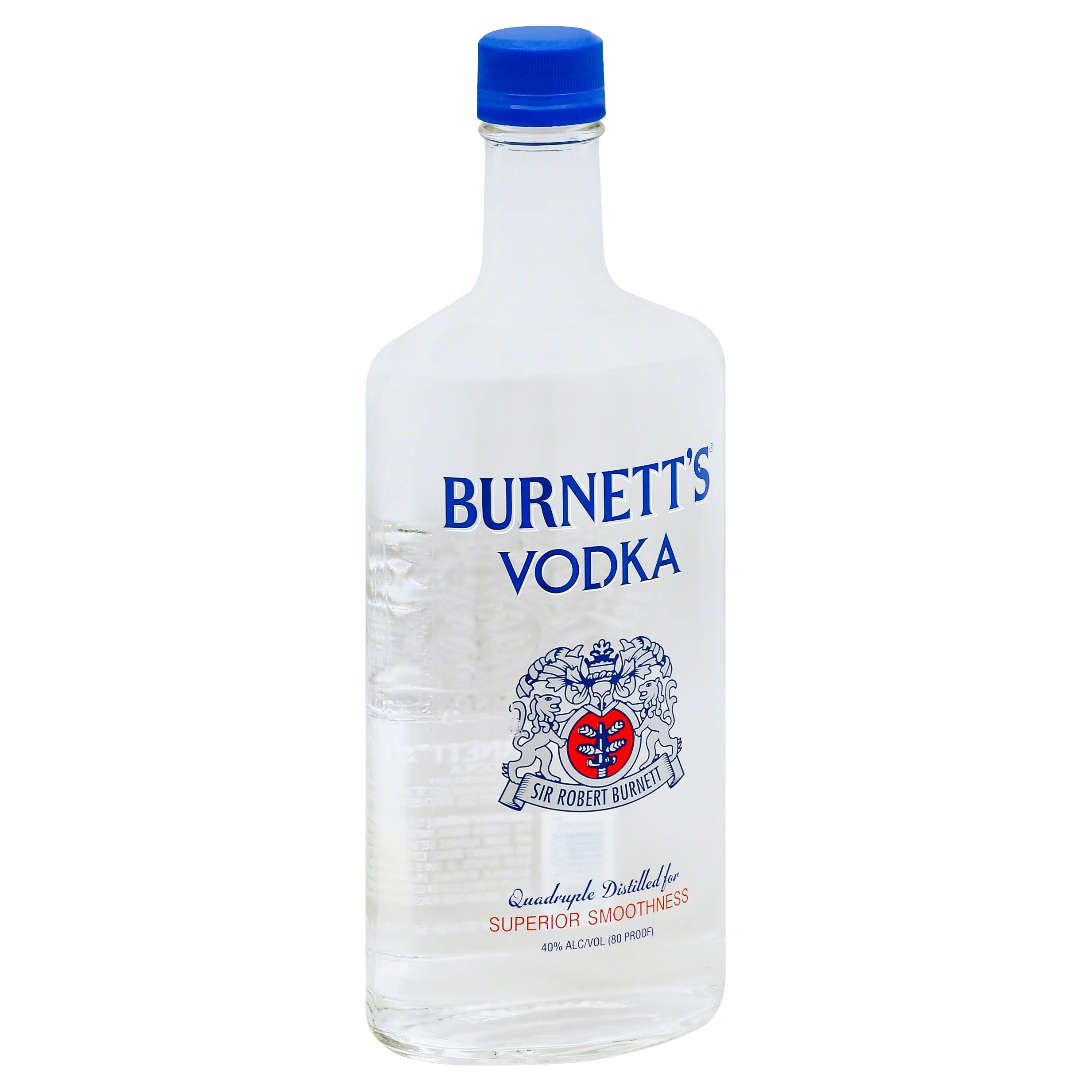 Burnett's Vodka - 750ml