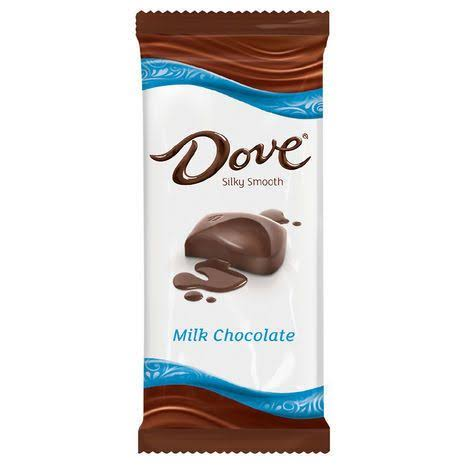 Dove Silky Smooth Milk Chocolate, 4 Pack - 3.3 oz