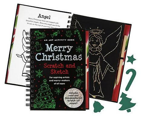 Merry Christmas Scratch and Sketch - Peter Pauper Press