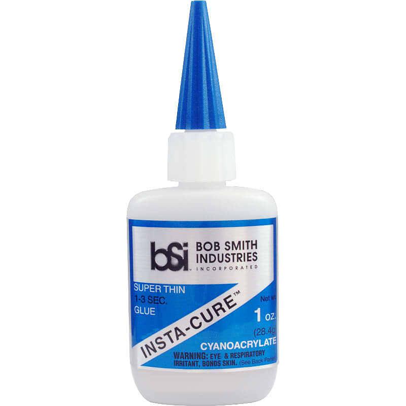 Bob Smith Industries Insta-Cure Cyanoacrylate Super Thin Glue - 1oz