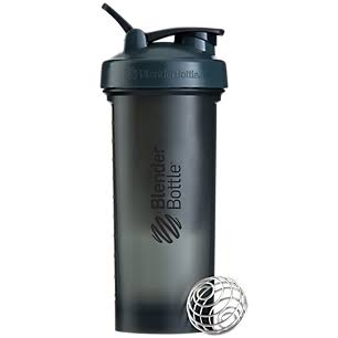 Blender Bottle Pro45 Extra Large Shaker Bottle - Grey and Black, 45oz