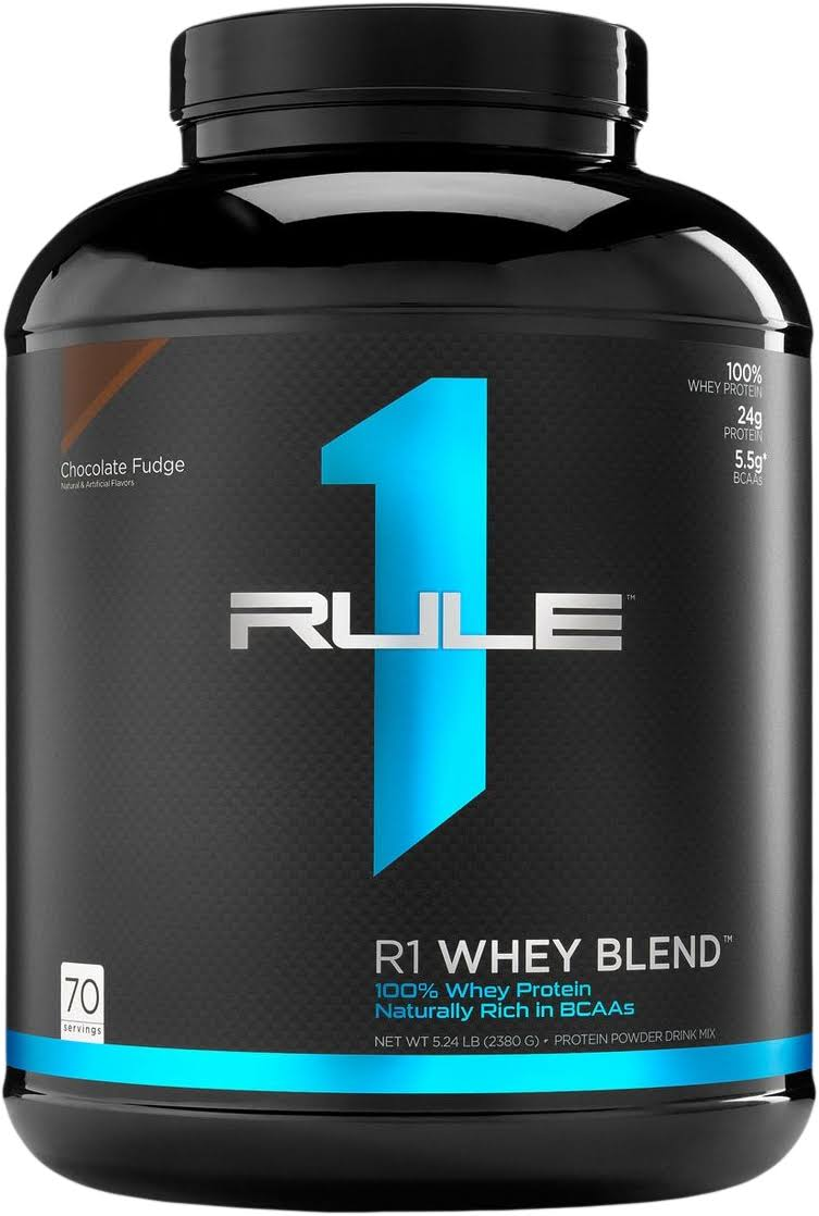 R1 Whey Blend, Rule 1, 70 Servings / Chocolate Peanut Butter