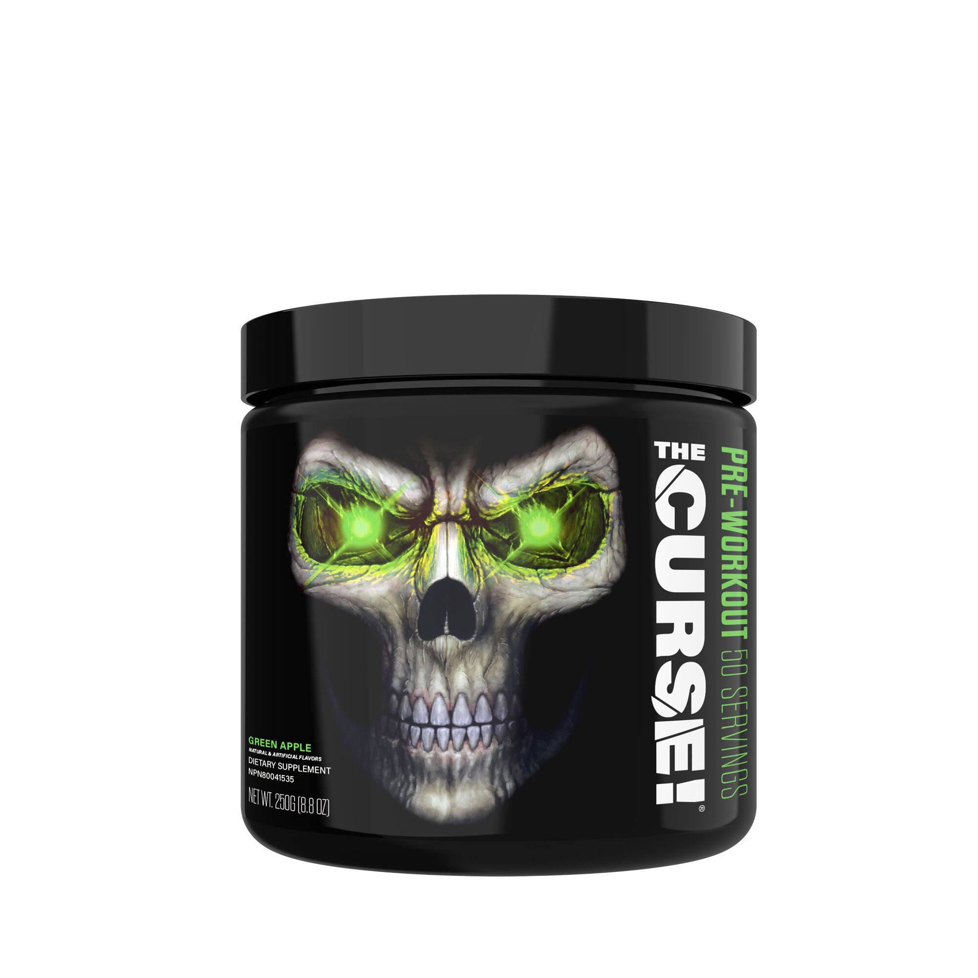 The Curse Pre Workout Dietary Supplement - Green Apple Envy, 250g