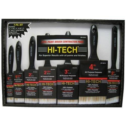 Gam Paint Brushes Contractor Pack Paint Brushes - 7pcs