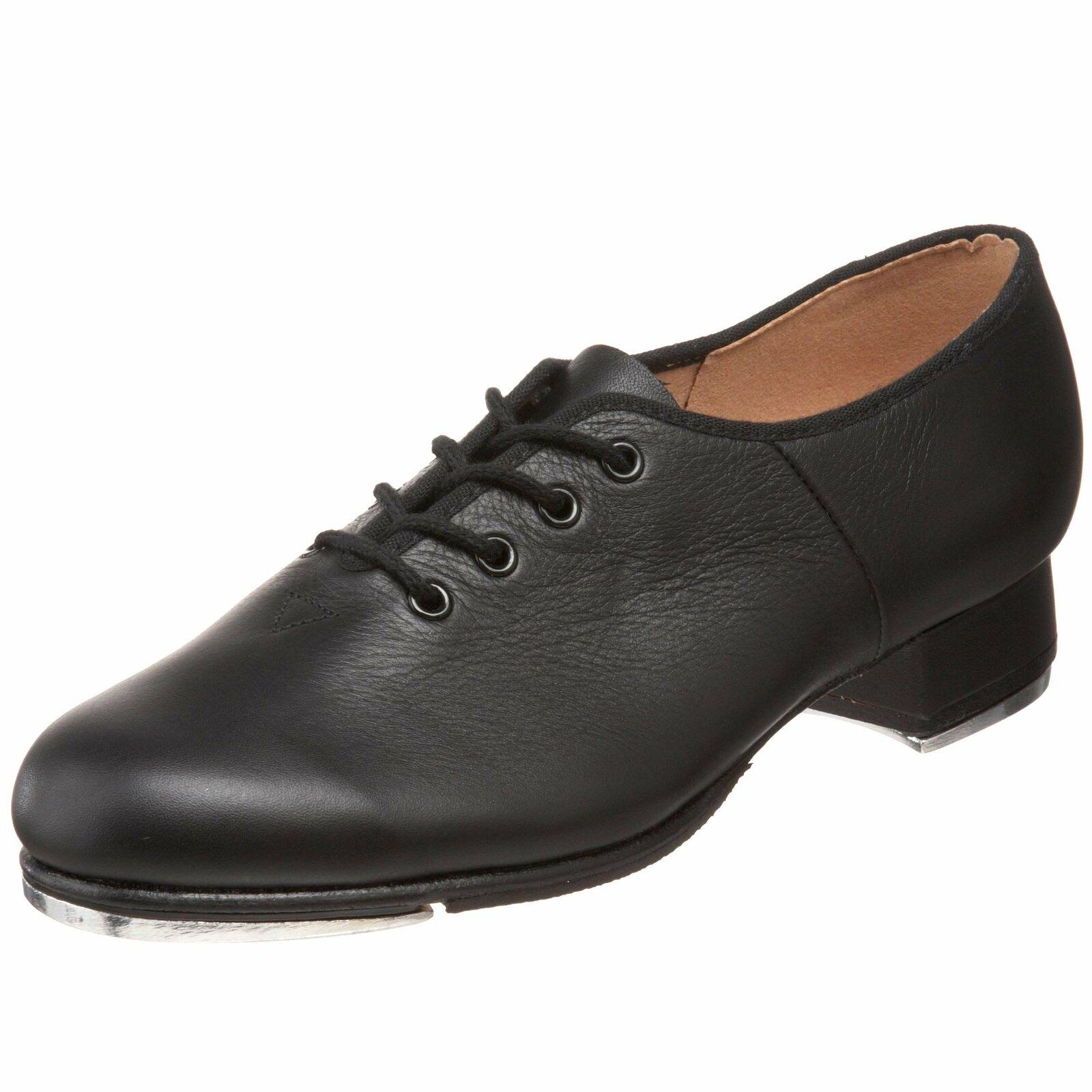 Bloch Dance Women's Jazz Tap Tap Shoe - Black, 8 US
