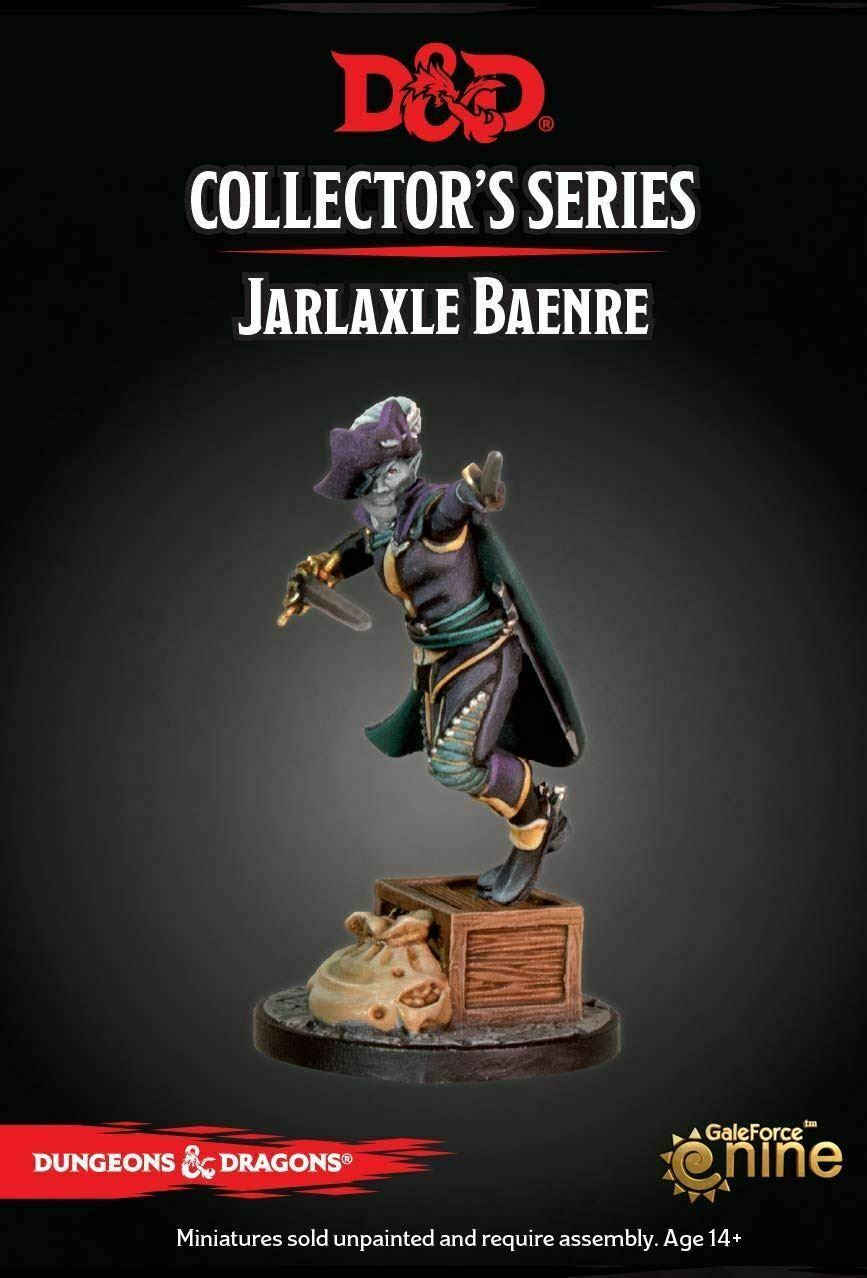 D&D Collector's Series Waterdeep Dragon Heist - Jarlaxle Baenre