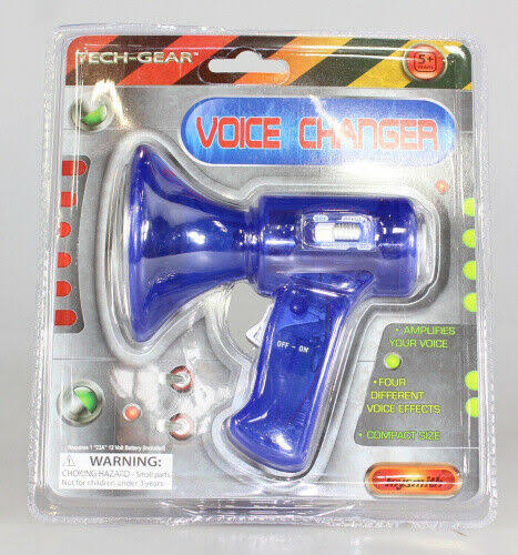 Toysmith Voice Changer - Assorted Colours, 8.9cm