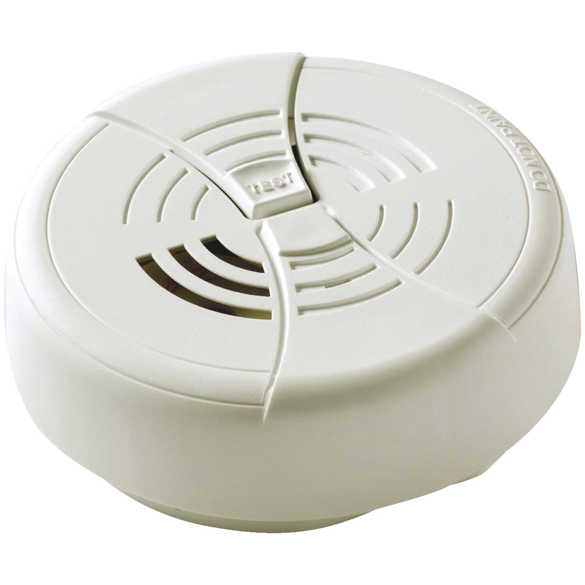 First Alert Battery Powered Smoke Detectors - with Hinged Cover, 9V, 2pk