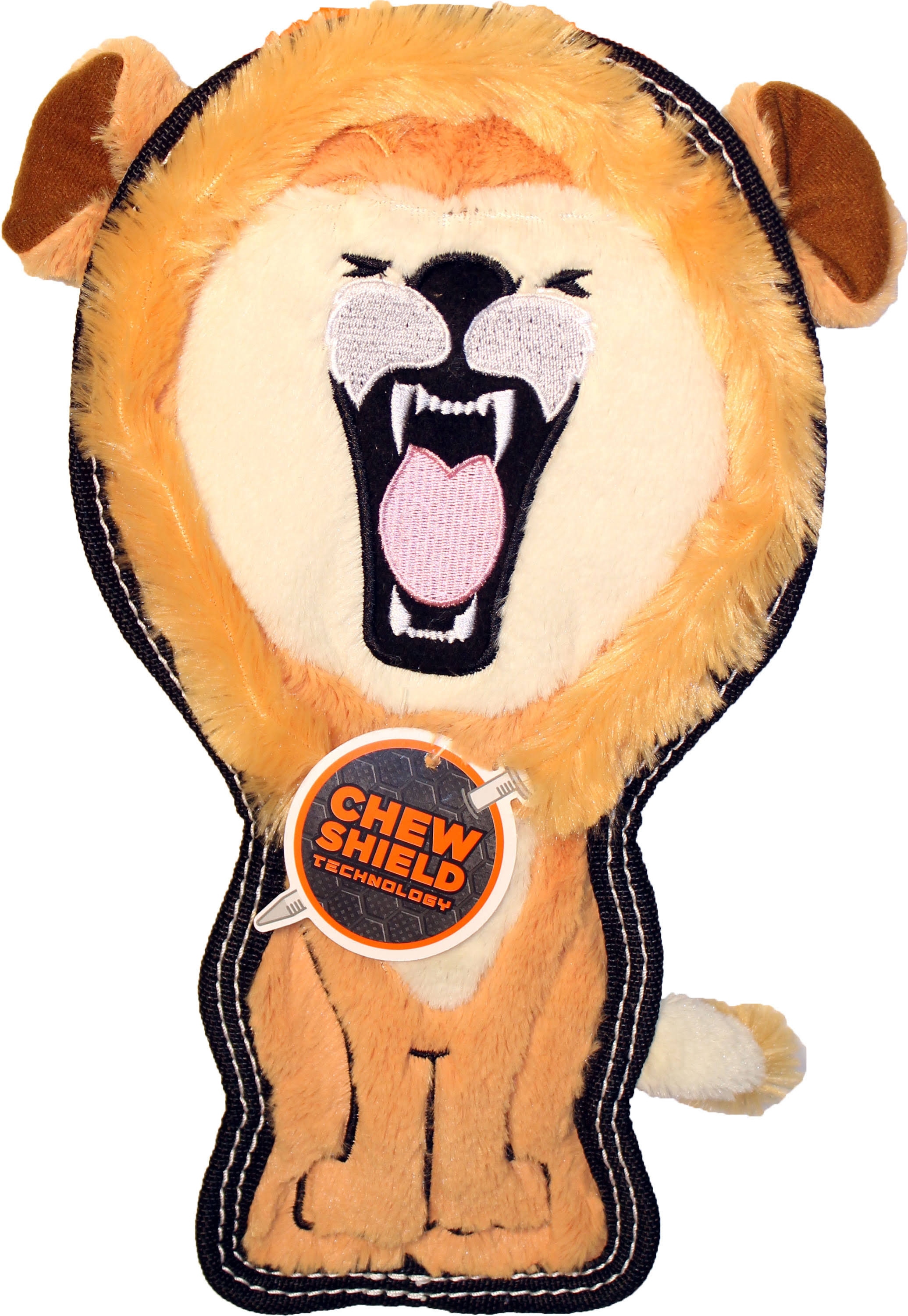 Petstages Tough Seamz Lion Dog Toy