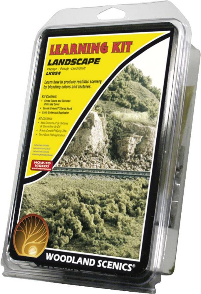 Woodland Scenics Landscaping Learning Kit