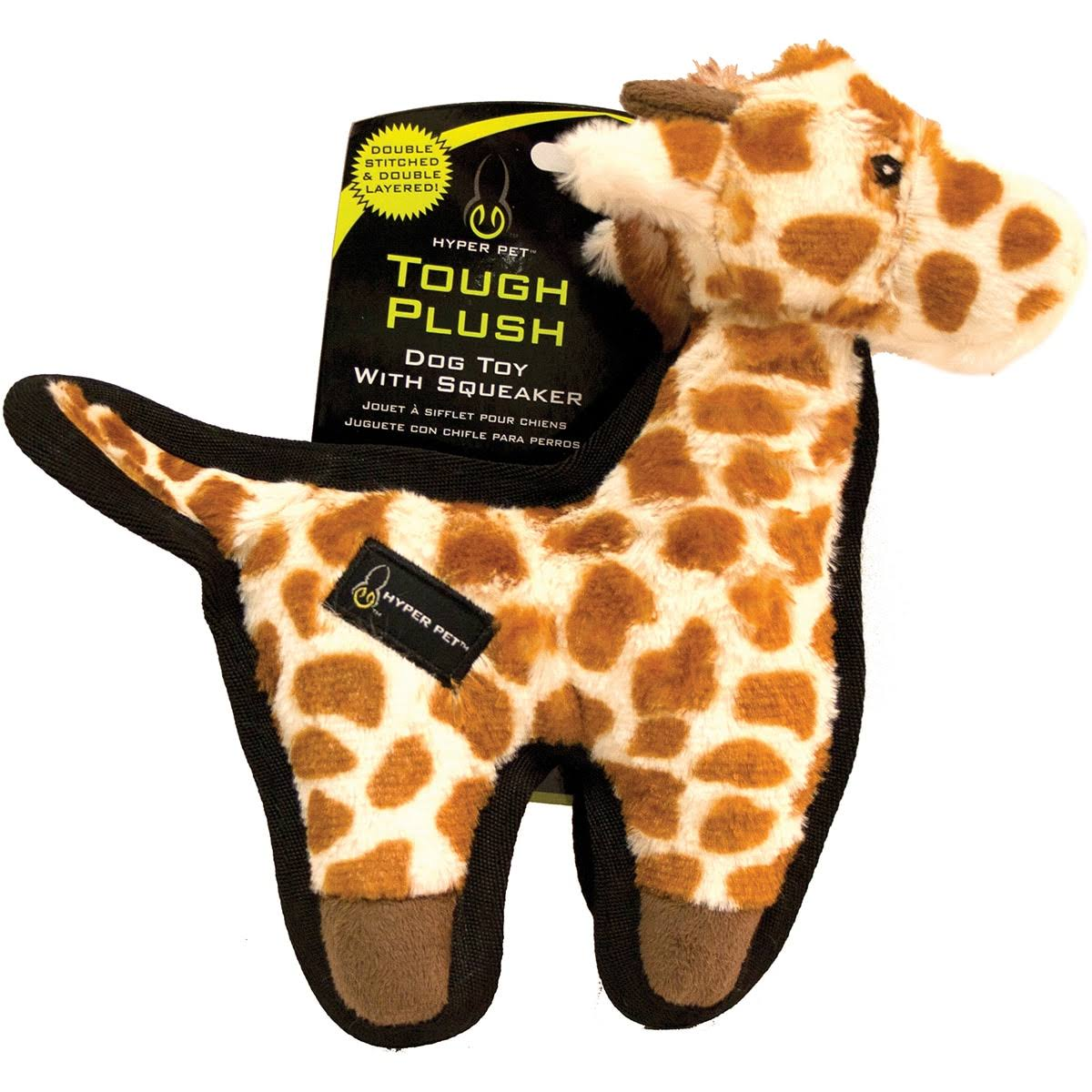 Hyper Pet Tough Plush Giraffe Toy