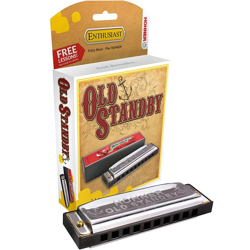 Hohner Old Standby 10 Hole Diatonic Harp Key of C Harmonica