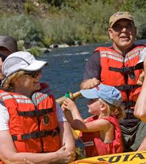 rafting with grandkids