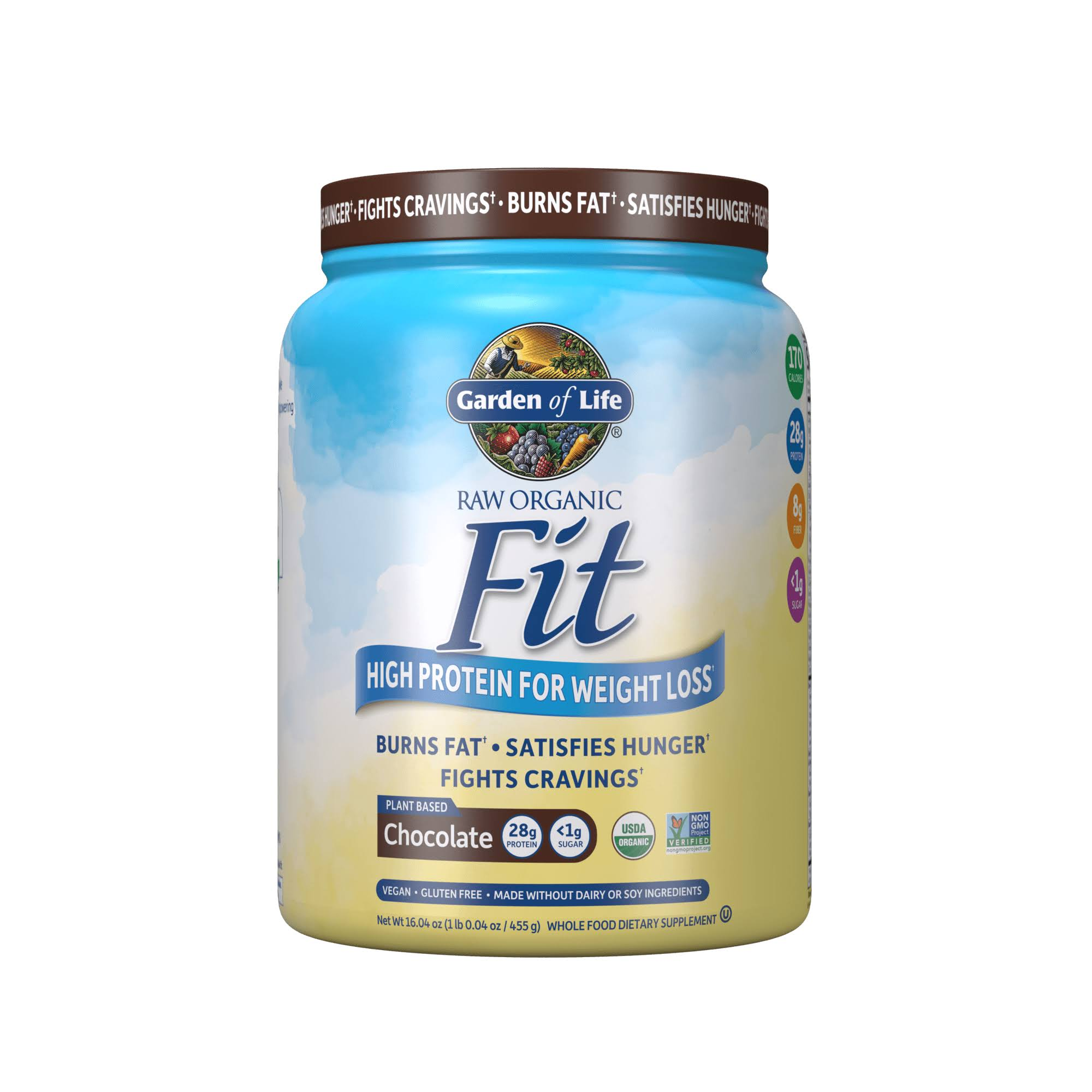 Garden of Life Raw Fit Protein Powder - Chocolate