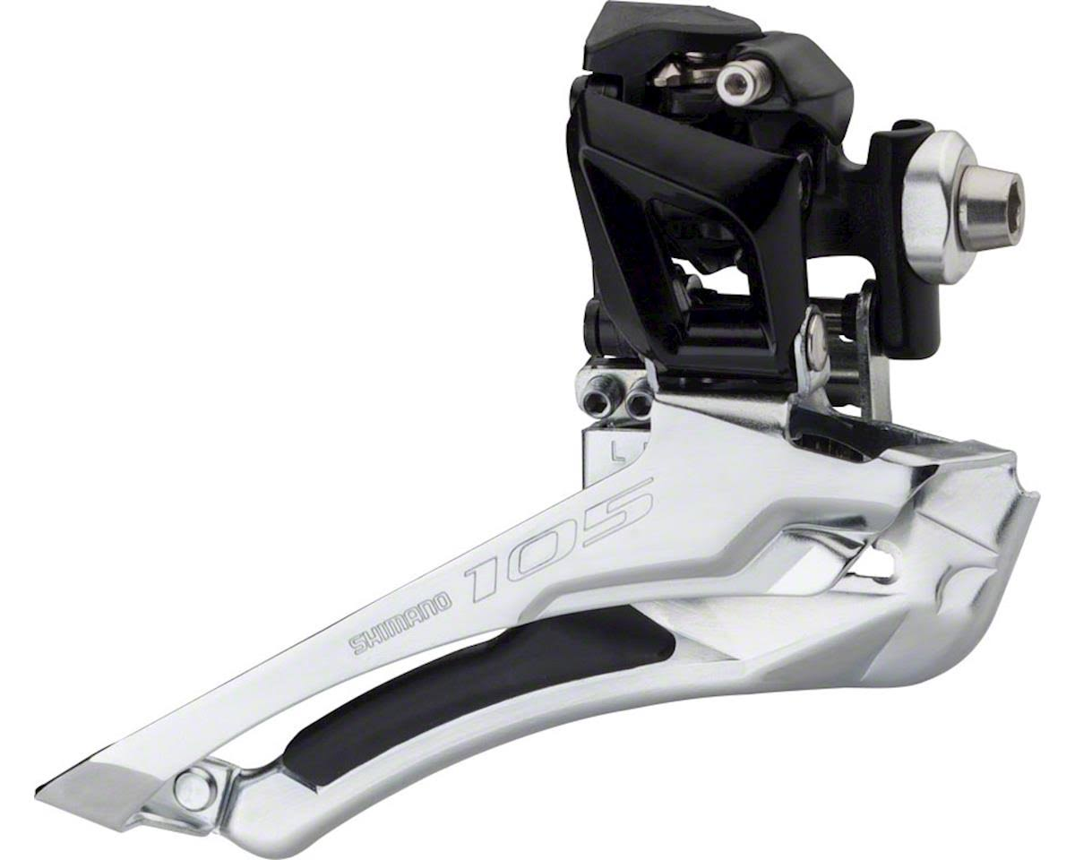 Shimano 105 5801 Braze-on Front Derailleur - Black,11 Speed