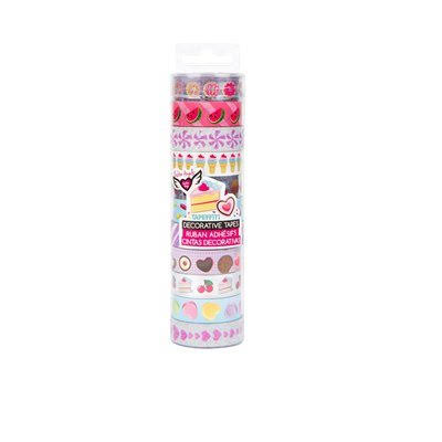 Fashion Angels Tapeffiti Decorative Washi Sweet Treats Tape - 11 rolls
