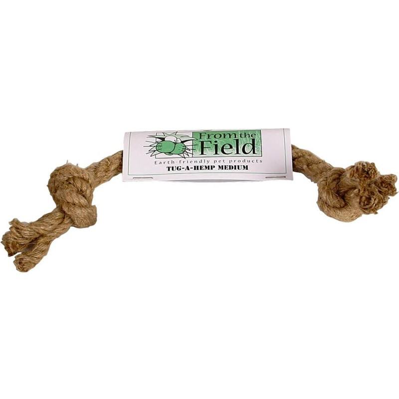 from The Field Tug-A-Hemp Natural Dog Toy Medium
