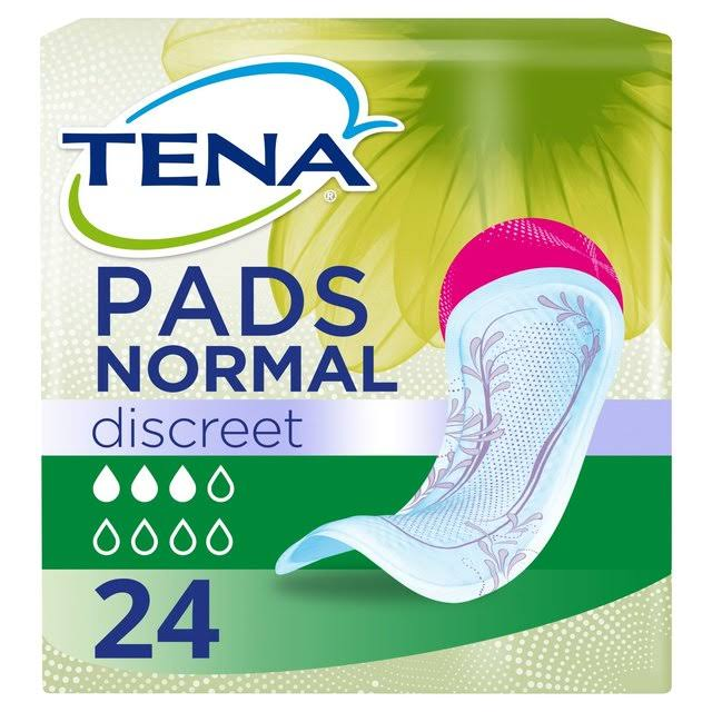 Tena Lady Discreet Normal Pads - 24pk