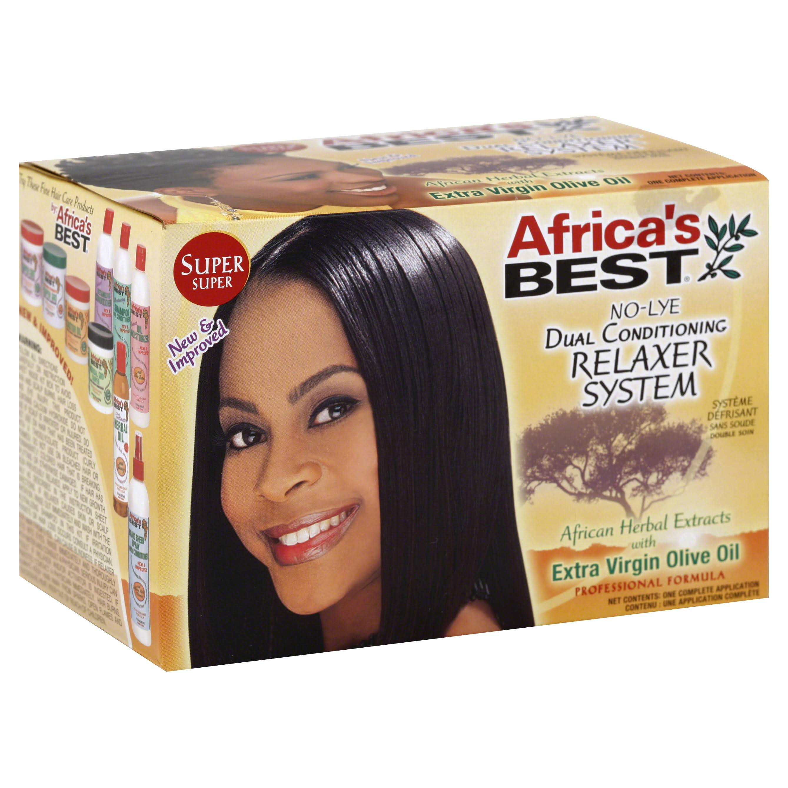 Africa's Best Dual Conditioning No-Lye Hair Relaxer System