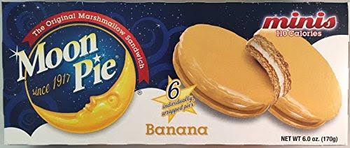 Moon Pie Minis Banana