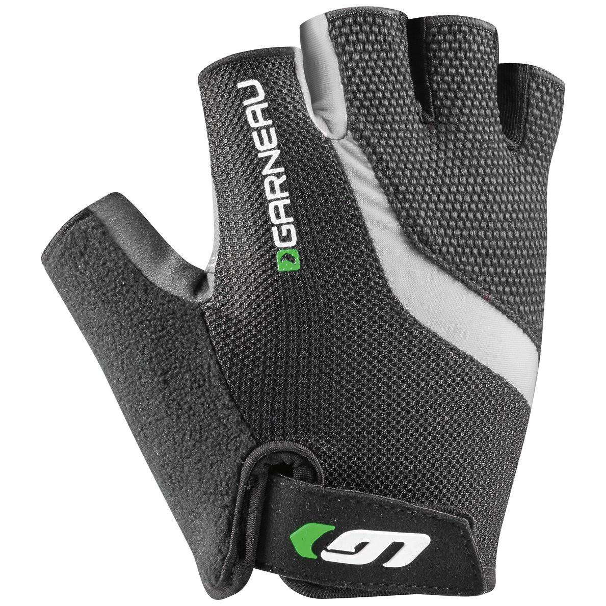 Louis Garneau Men's Biogel RX-V Cycling Gloves Grey / Green XL