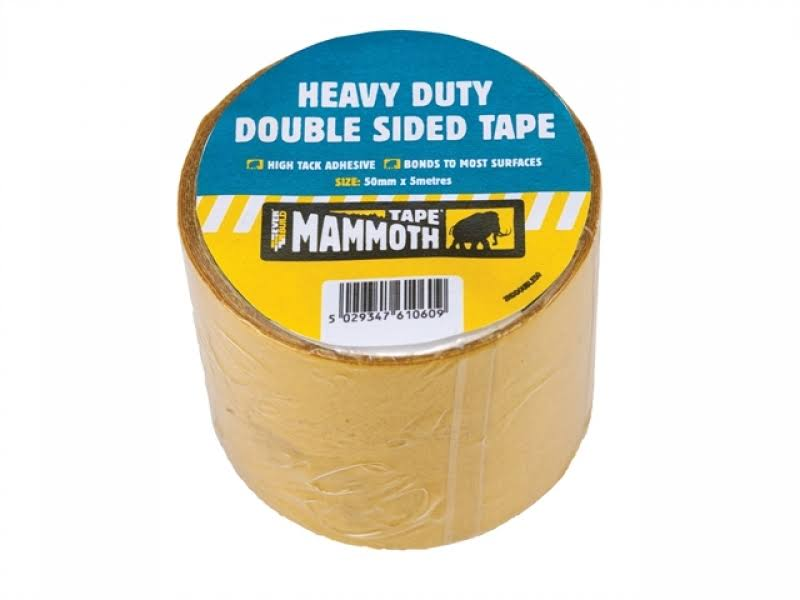 Mammoth Tape Heavy Duty Double Sided Tape