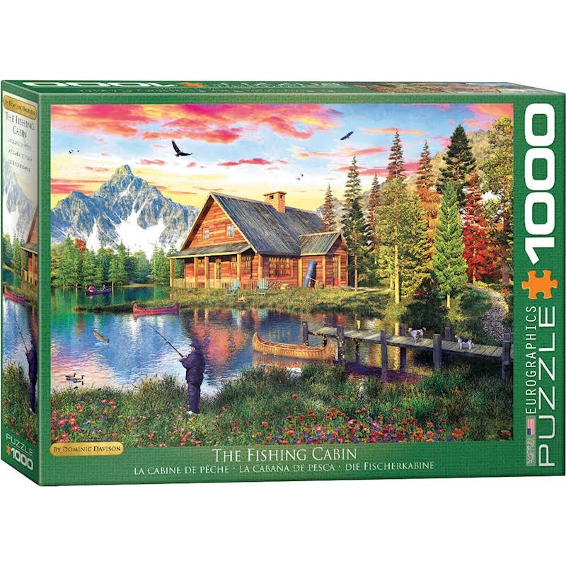 Eurographics The Fishing Cabin 1000 Piece Puzzle