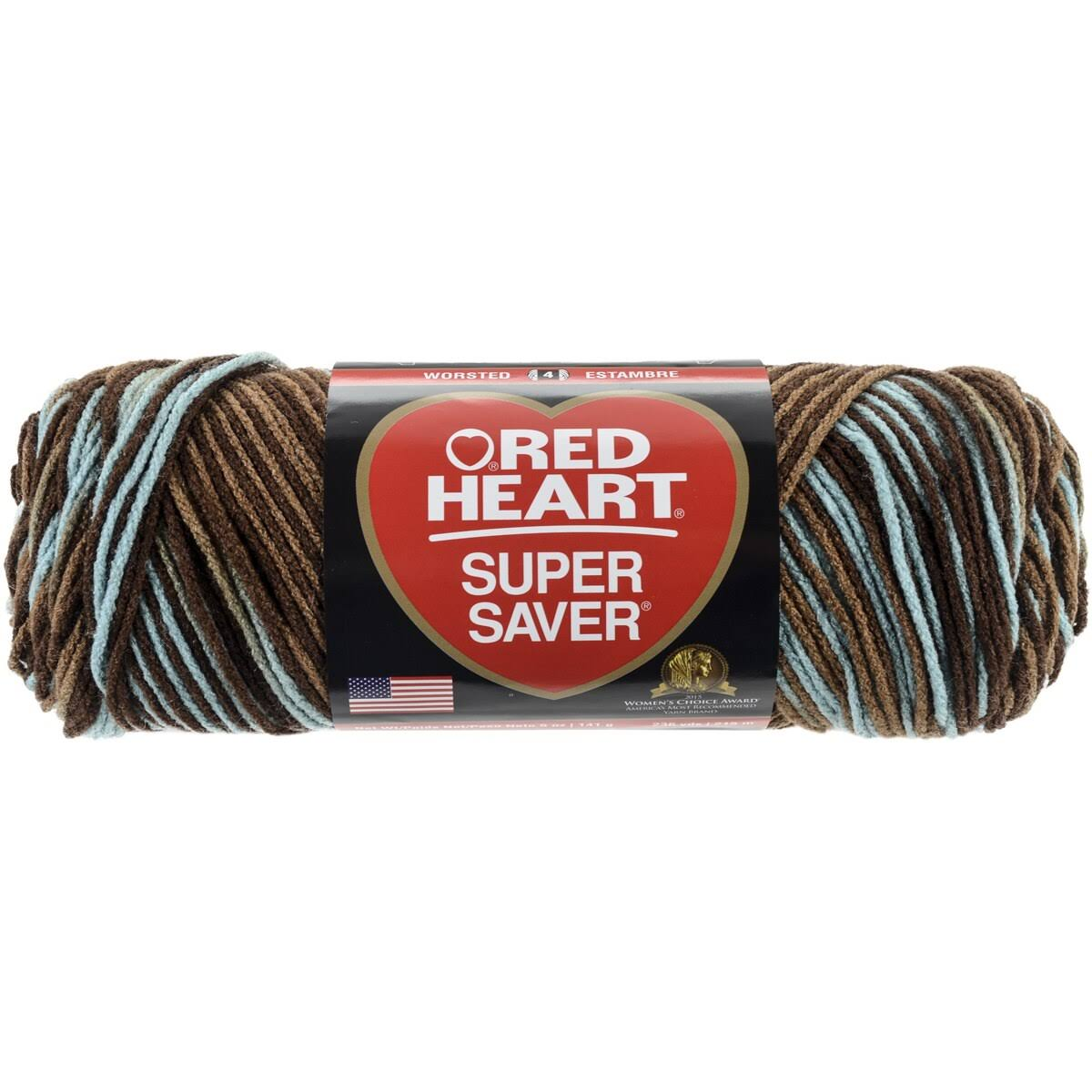 Red Heart Super Saver Yarn - Earth & Sky