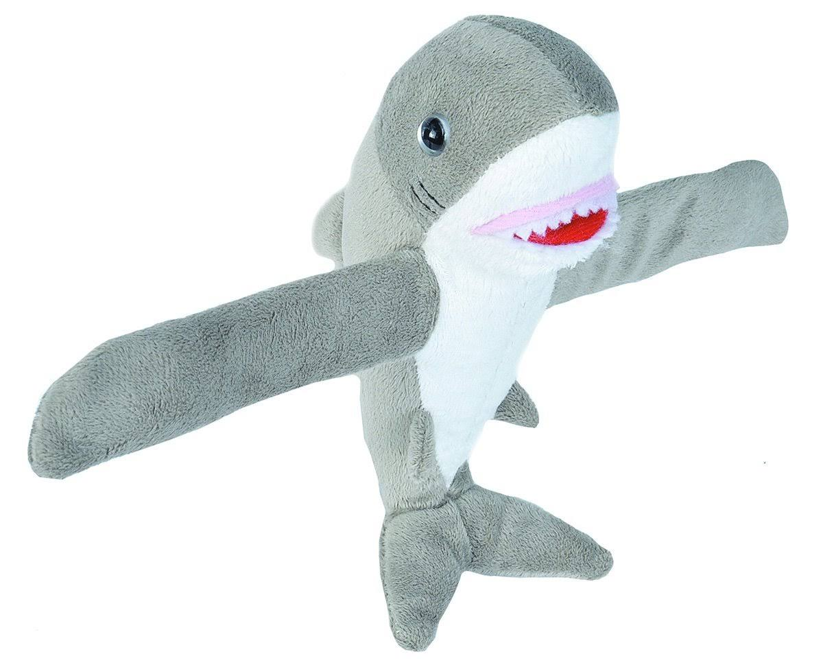 Wild Republic Cuddlekins Huggers Stuffed Animal - Great White Shark, 8in