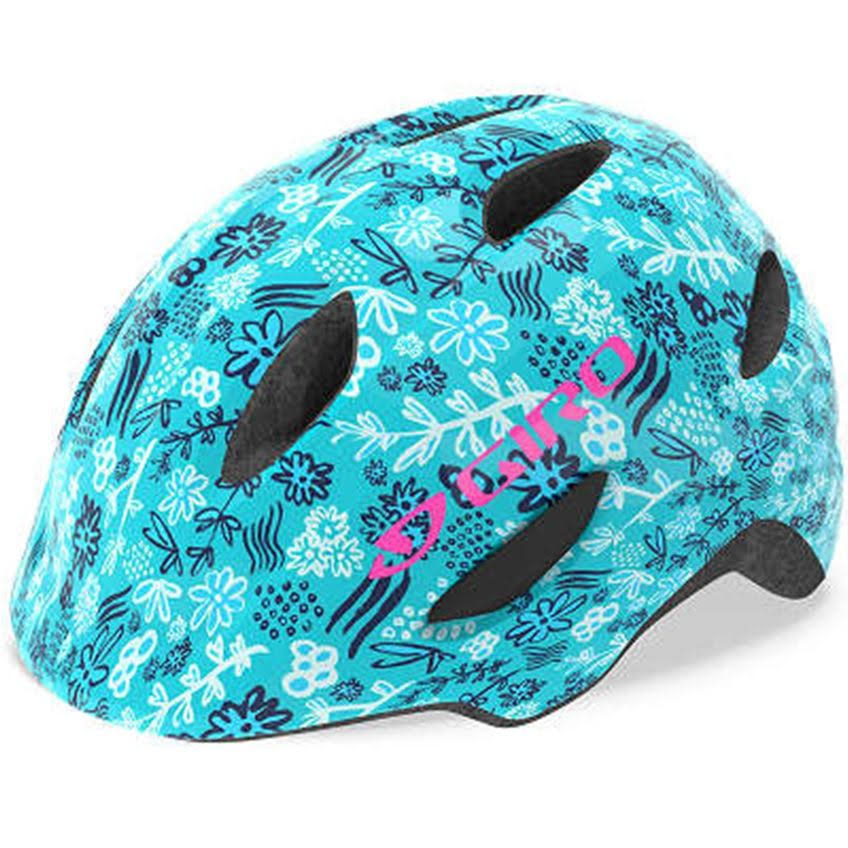 Giro Scamp Kid's Cycling Helmet - Blue Floral, Small