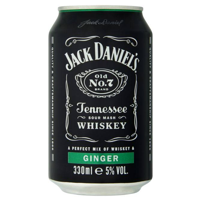 Jack Daniel's Tennesse Sour Mash Whiskey - 330ml