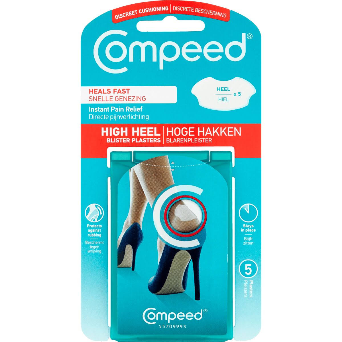 Compeed Blister High Heels - 5 Pack