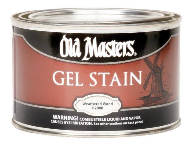 Old Masters 82008 PT Weathered Wood Gel Stain