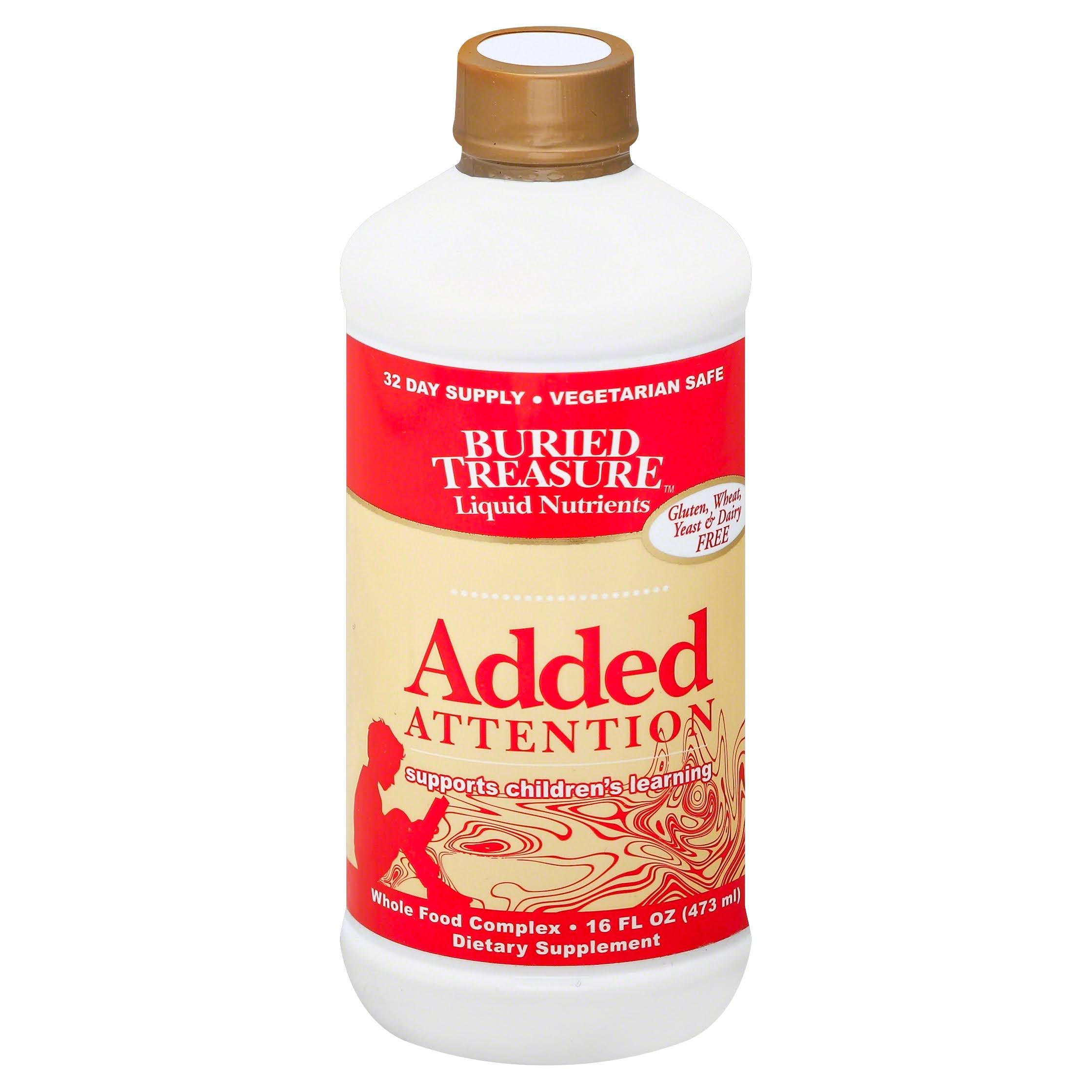 Buried Treasure Added Attention For Children - 473ml